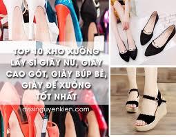 Top xưởng sỉ giày nữ giá rẻ chất lượng tại quận Ngô Quyền, Hải Phòng