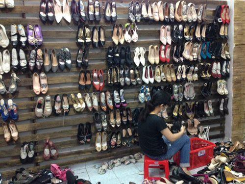 Top xưởng sỉ giày nữ giá rẻ chất lượng tại H.Mỹ Đức, Hà Nội