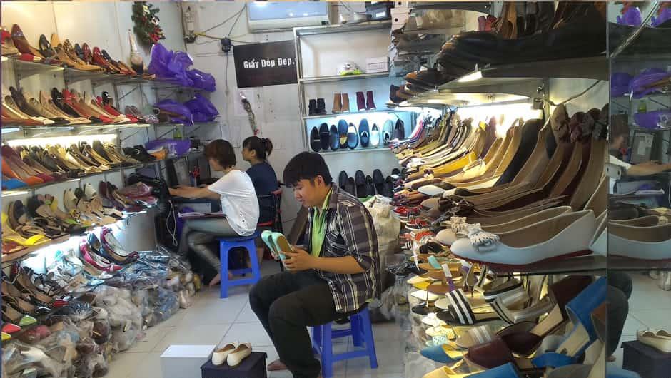 Xưởng sỉ giày nam Thái Minh