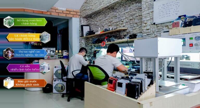 Top cửa hàng bán sửa chữa điện thoại Samsung tốt nhất tại Quận 2, TP.HCM