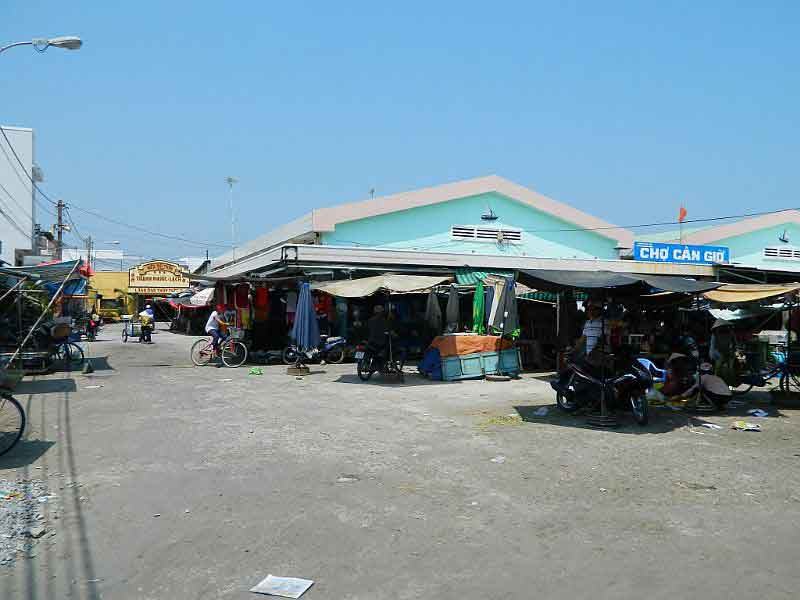 Chợ hải sản Cần Giờ - Cần Thạnh