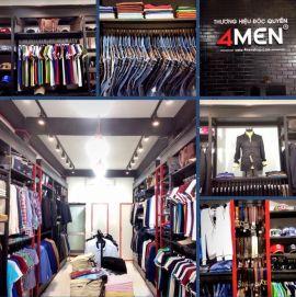 Cửa hàng thời trang 4MEN Cách Mạng Tháng 8