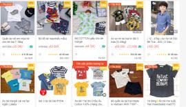 Quần áo trẻ em Shopee