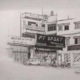 Cửa hàng đồ thể thao nam PT Sport - Hà Nội