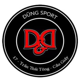 Cửa hàng đồ thể thao nam Dũng Sport - Hà Nội