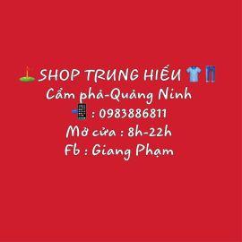 Cửa hàng thời trang nam Shop Trung Hiếu - Quảng Ninh