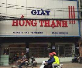 Cửa hàng giày nam nữ Hồng Thạnh Quận Tân Bình
