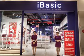 Cửa hàng đồ lót nữ, nam iBasic Quận Tân Bình