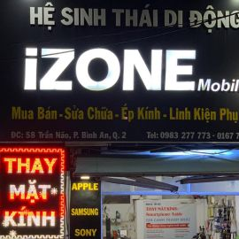 Cửa hàng sửa chữa điện thoại iZONE MOBILE - Q.2