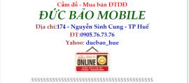 Cửa hàng sửa chữa điện thoại Đức Bảo Mobile - TP.Huế