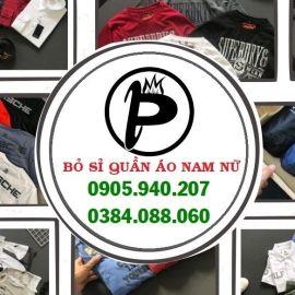Xưởng bỏ sỉ quần áo nam xuất khẩu - Q.Bình Thạnh