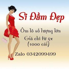 Xưởng sỉ quần áo nữ Sỉ Đầm Đẹp - Q.Bình Thạnh