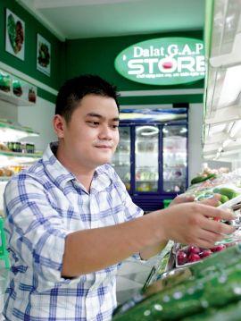 Cửa hàng thực phẩm Đà Lạt GAP - Quận 3