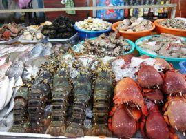 Chợ hải sản tươi sống Đống Đa - Q.Hải Châu, Đà Nẵng