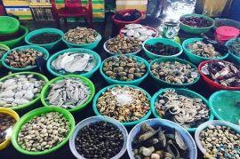 Chợ hải sản Thanh Khê Đông - Q.Thanh Khê, Đà Nẵng