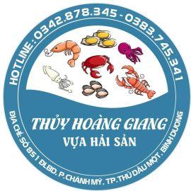 Cửa hàng bán hải sản tươi sống Thủy Hoàng Giang - TP.Thủ Dầu Một, Bình Dương