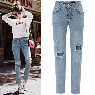 Top shop bán quần jean cho nữ đẹp tại Thái Bình