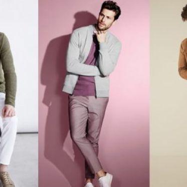 Những phong cách phối màu mới lạ dành cho phái nam
