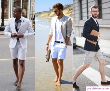 Phong cách thời trang mùa hè cho phái mạnh