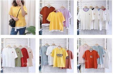 Top shop bán áo thun cho nữ trẻ trung tại Bình Dương
