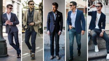 Nhưng cách phối áo blazer với quần jean cho nam