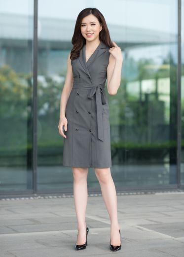 Top shop bán váy đầm vest cho nữ tại Quận 1, TP.HCM