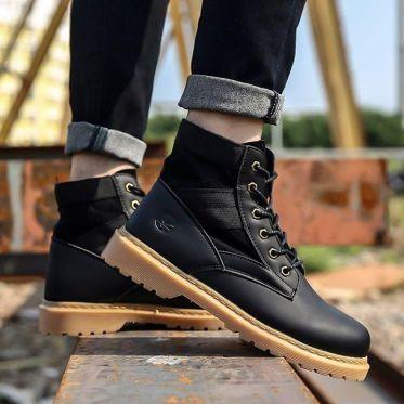 Top shop bán giày boot nam cao cấp chất lượng tại Nhà Bè, TpHCM