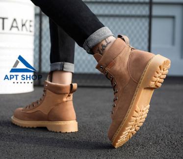 Top shop bán giày boot nam cao cấp chất lượng tại Quận 12, TpHCM
