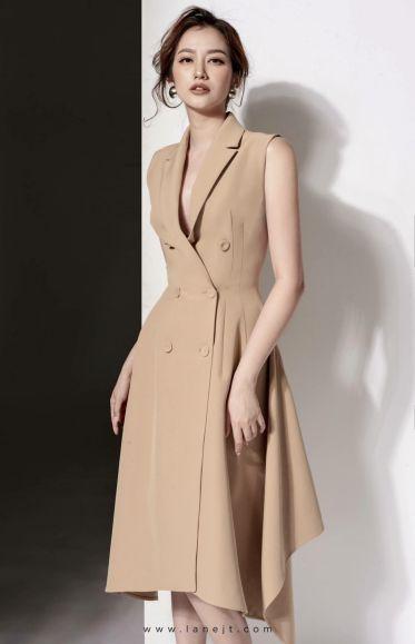 Top shop bán váy đầm vest cho nữ tại Quận 7, TP.HCM