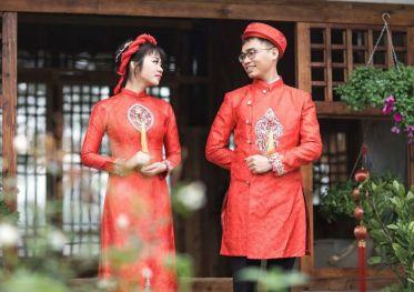 Top shop áo dài chú rể giá rẻ uy tín tại Bình Tân, TPHCM